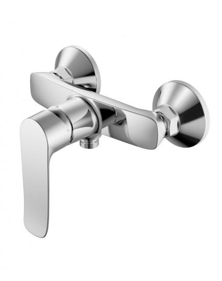 Agger Nice A2520000 - Однозахватный смеситель для ванны без излива, хром