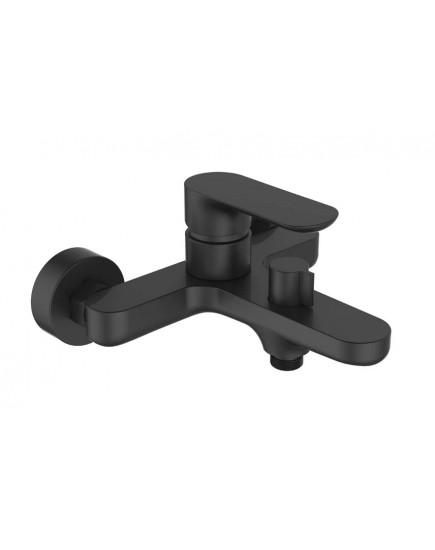 Agger Gorgeous A0210044 - смеситель для ванной с коротким изливом, черный