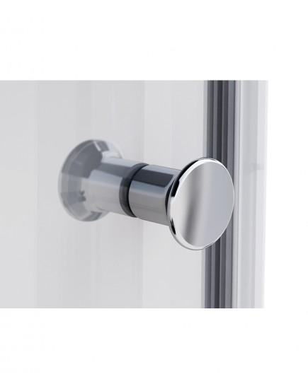 Agger A01-090MCR/G - душевой уголок с матовым стеклом без поддона 90х90х185