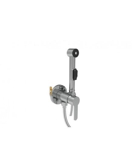 Agger Gorgeous A0270000 - гигиенический душ со смесителем и внутренней частью. Цвет белый