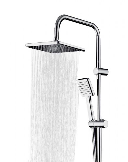 Agger Fresh A0494000 - душевая система с тропическим душем, хром