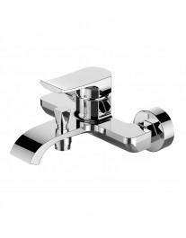 Agger Happy A0410000 - Однозахватный смеситель для ванной с коротким изливом, хром