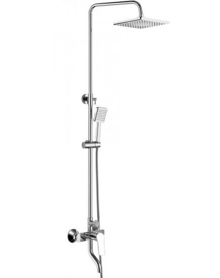 Agger Merry A1394400 - Душевая система со смесителем, хром