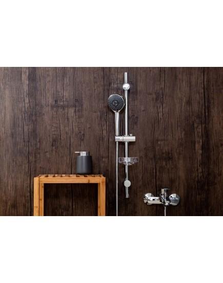 Agger Wave A032 - душевой гарнитур для ванной, хром
