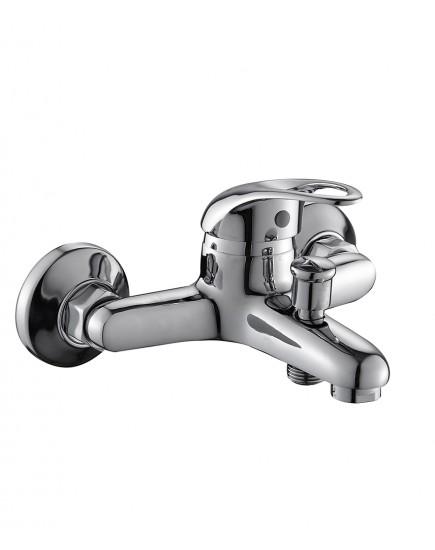 Agger Move A0610000 - смеситель для ванной с коротким изливом, хром
