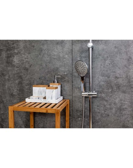 Agger Thermo A2492200 - Термостатическая душевая система со смесителем без излива