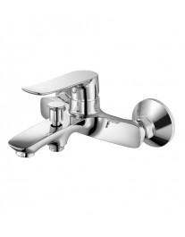 Agger Nice A2510000 - однозахватный ванно/душевой смеситель с коротким изливом, хром