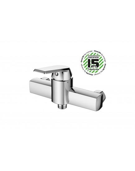 OneLife P02-200cr Полимерный смеситель для душа