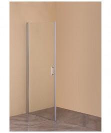 Orange E05-090TCR/D Душевая дверь распашная универсальная 90х190 см